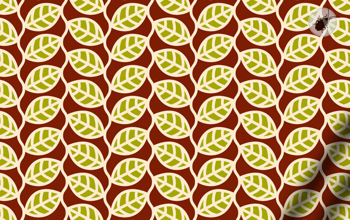 pattern whit leaves