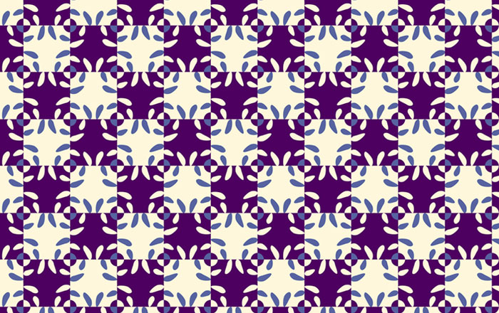 two-colors pattern