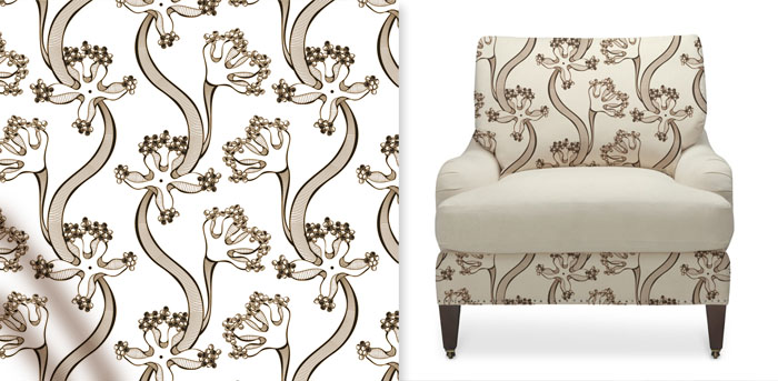 forniture textile pattern